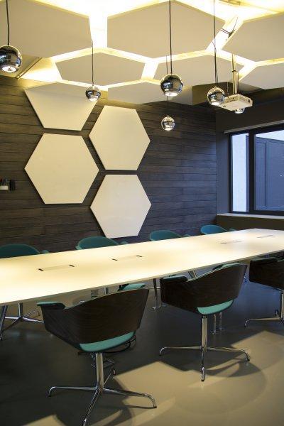 Nem mindennapi rejtett fények - dolgozószoba ötlet, modern stílusban
