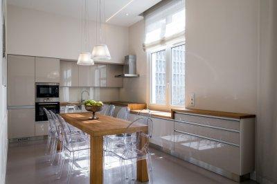 Klasszikus függesztett lámpa - konyha / étkező ötlet, modern stílusban