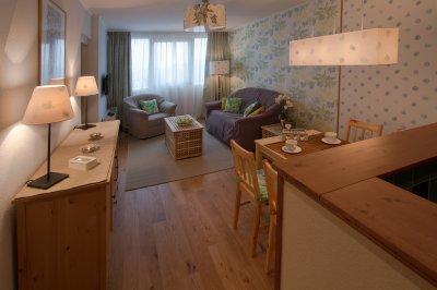 lakásfelkészítés kiadásra - nappali ötlet, modern stílusban