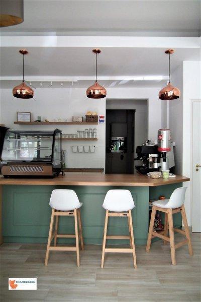 bisztró pult - konyha / étkező ötlet, modern stílusban