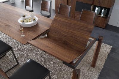 Bővíthető étkezőasztal - konyha / étkező ötlet, modern stílusban