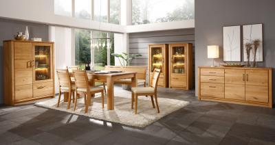 Robosztus kialakítású bútorok - nappali ötlet, modern stílusban