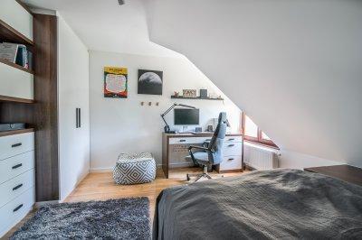 Kényelmes fiúszoba - gyerekszoba ötlet