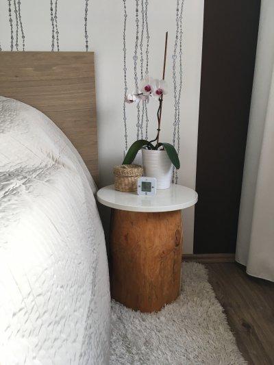 Hálószoba szeglete - háló ötlet, modern stílusban