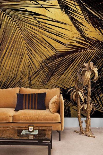 Palm posztertapéta - nappali ötlet