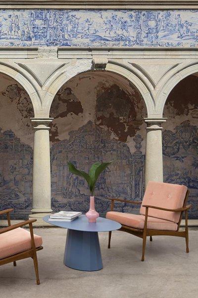Arcos posztertapéta - nappali ötlet, modern stílusban
