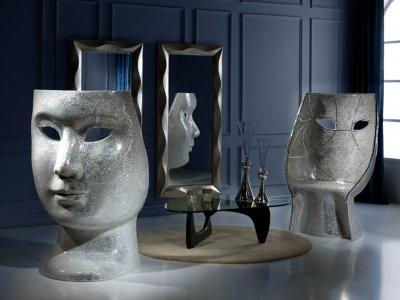 Lakásdekoráció Mascara - nappali ötlet, modern stílusban