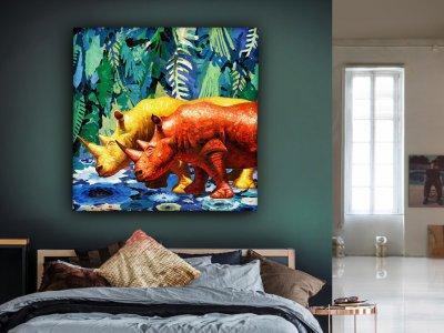 Lakás dekoráció Rhino - háló ötlet, modern stílusban