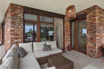 Fa nyílászárók - erkély / terasz ötlet