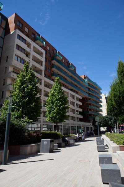 Corvin sétány, Józsefváros leghíresebb negyede - homlokzat ötlet, modern stílusban