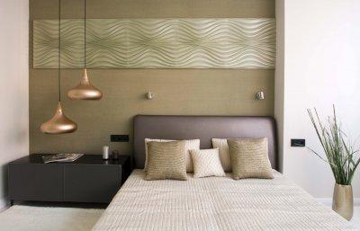 Hálószoba - háló ötlet, modern stílusban