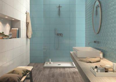 Marazzi - Pottery termékcsalád - fürdő / WC ötlet, modern stílusban