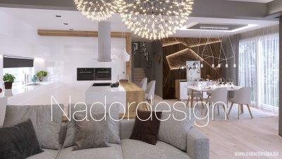 Modern konyha/ étkező - konyha / étkező ötlet, modern stílusban