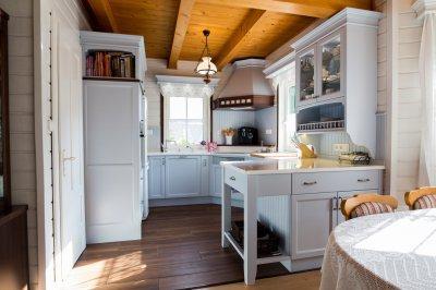 Angol rusztikus konyhabútor - konyha / étkező ötlet, rusztikus stílusban
