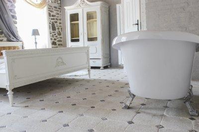 Pietra Káró - fürdő / WC ötlet, klasszikus stílusban