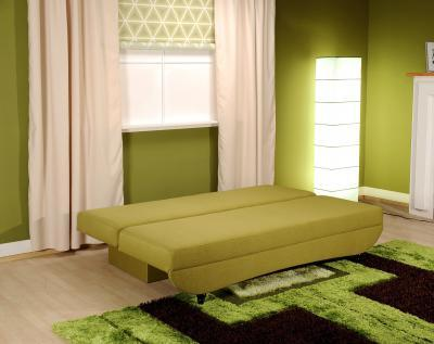 Ággyá nyitható kanapé - nappali ötlet, modern stílusban