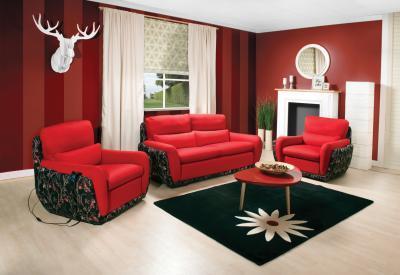 Viena kanapé - nappali ötlet, modern stílusban