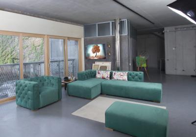 New York sarokkanapé - nappali ötlet, modern stílusban