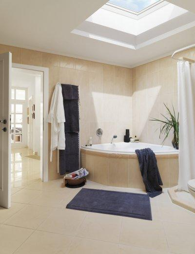 Otthonos fürdőszoba - fürdő / WC ötlet