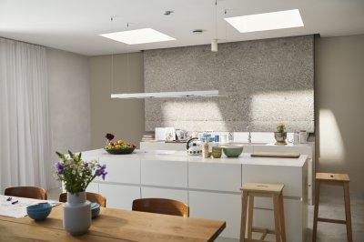 Skandináv konyha - konyha / étkező ötlet, modern stílusban