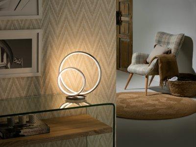 Omega LED asztali lámpa - nappali ötlet, modern stílusban