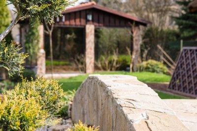Télikert, terasz beépítés - kert / udvar ötlet, modern stílusban