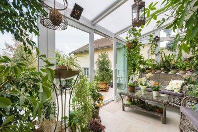 Télikert, terasz beépítés - erkély / terasz ötlet, klasszikus stílusban