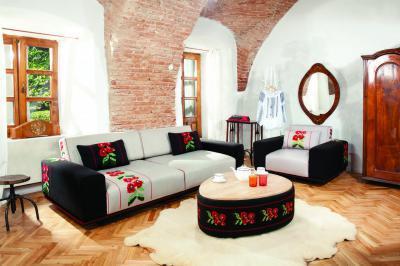 Bucovina kanapé - nappali ötlet