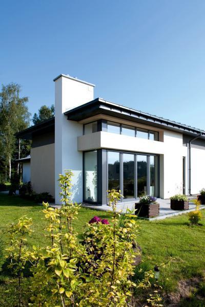 Bukó-toló teraszajtó és ablakok - homlokzat ötlet, modern stílusban