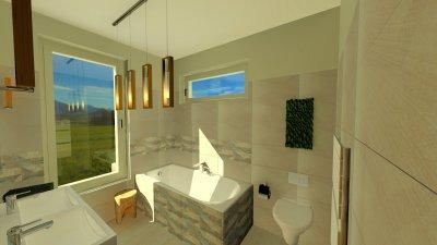 Fiúk fürdőszobája I. - fürdő / WC ötlet, modern stílusban
