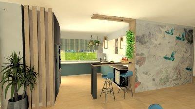 Fiatalos konyha, mely világos és tágas - konyha / étkező ötlet, modern stílusban