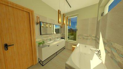 Fiúk fürdőszobája 2. - fürdő / WC ötlet, modern stílusban