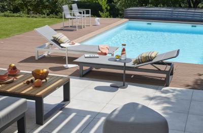 Kényelmes Fermo napozóágy - erkély / terasz ötlet, modern stílusban