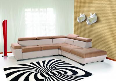 Bruxelles sarokkanapé - nappali ötlet, modern stílusban