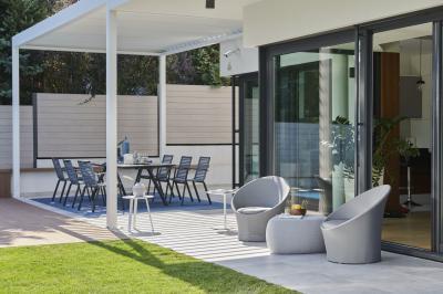 Apollo kerti bútor - erkély / terasz ötlet, modern stílusban