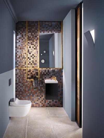 AquaClean higiéniai berendezés - fürdő / WC ötlet, modern stílusban