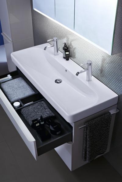 Smyle mosdó - Finom formák, maximális funkció - fürdő / WC ötlet, modern stílusban