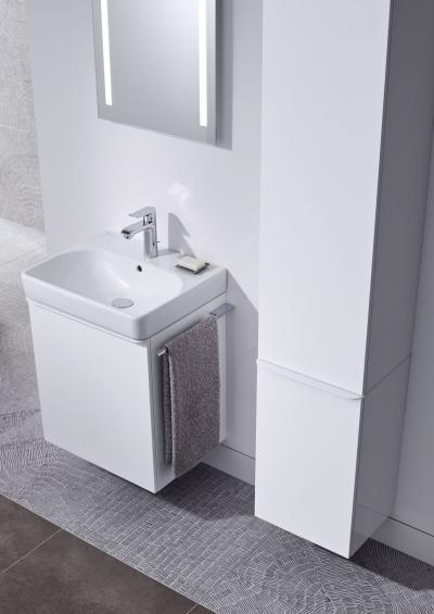 Smyle mosdókagyló - Finom formák, maximális funkció - fürdő / WC ötlet, modern stílusban