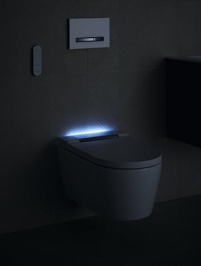 AquaClean rendszerű fali wc - fürdő / WC ötlet, modern stílusban