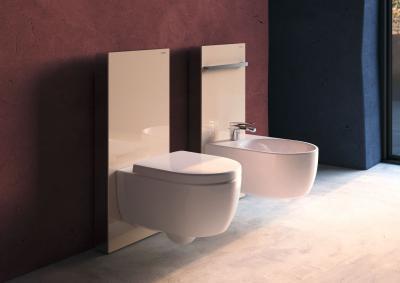 Monolith vécétartály - fürdő / WC ötlet, modern stílusban
