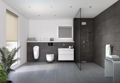 Design szaniterek a fürdőszobában - fürdő / WC ötlet
