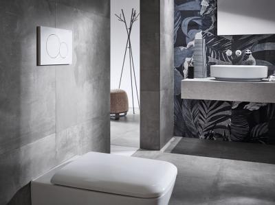 Monolith rendszer design mosdóval - fürdő / WC ötlet, modern stílusban