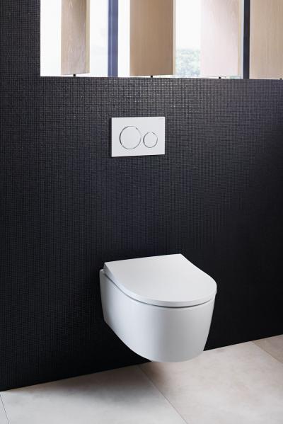 Innovatív, peremmentes wc - fürdő / WC ötlet, modern stílusban
