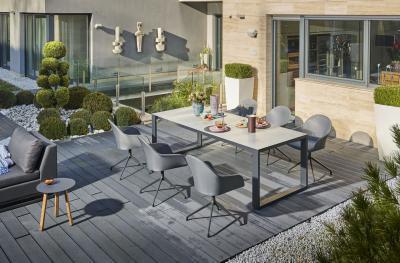 Kagyló szék kertbe, teraszra - erkély / terasz ötlet, modern stílusban
