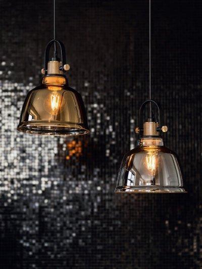 Csodásan izzó fények - nappali ötlet, klasszikus stílusban