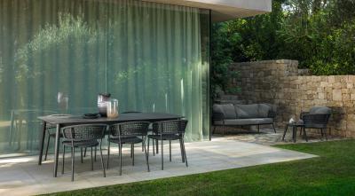 Étkező a teraszon - erkély / terasz ötlet, modern stílusban