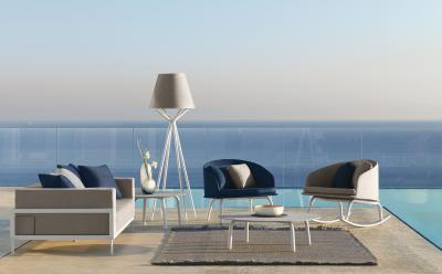 Kanapé és fotel a teraszra is! - erkély / terasz ötlet, modern stílusban