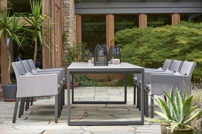 Kárpitozott székek kültérre - erkély / terasz ötlet, modern stílusban