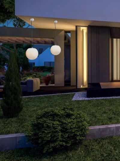 Stílusos kerti világítás - kert / udvar ötlet