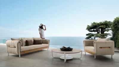 Nappali a teraszon - erkély / terasz ötlet, modern stílusban